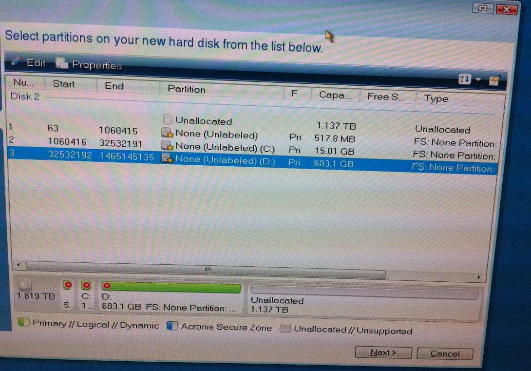 DirecTV DVR copying from one drive to a new one  Go to #23