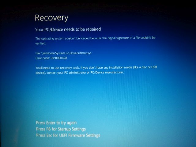 Can´t boot True image on HP Pavilion 6 with UEFI | Acronis Forum