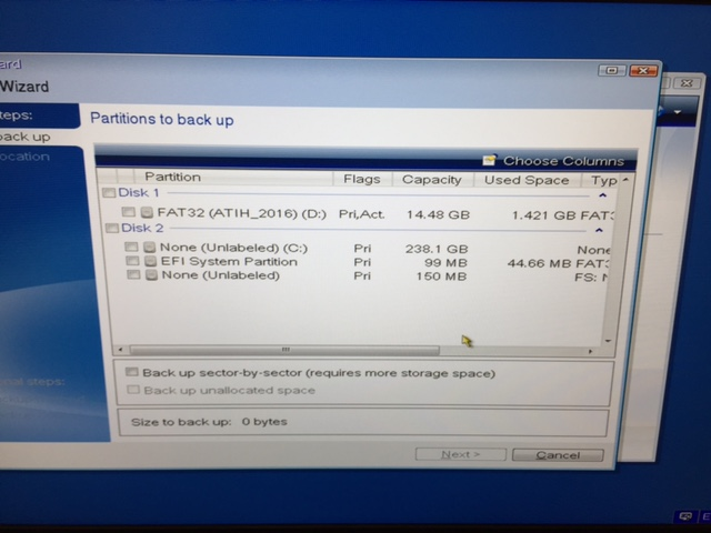 Bootable usb not seeing new m 2 SSD | Acronis Forum