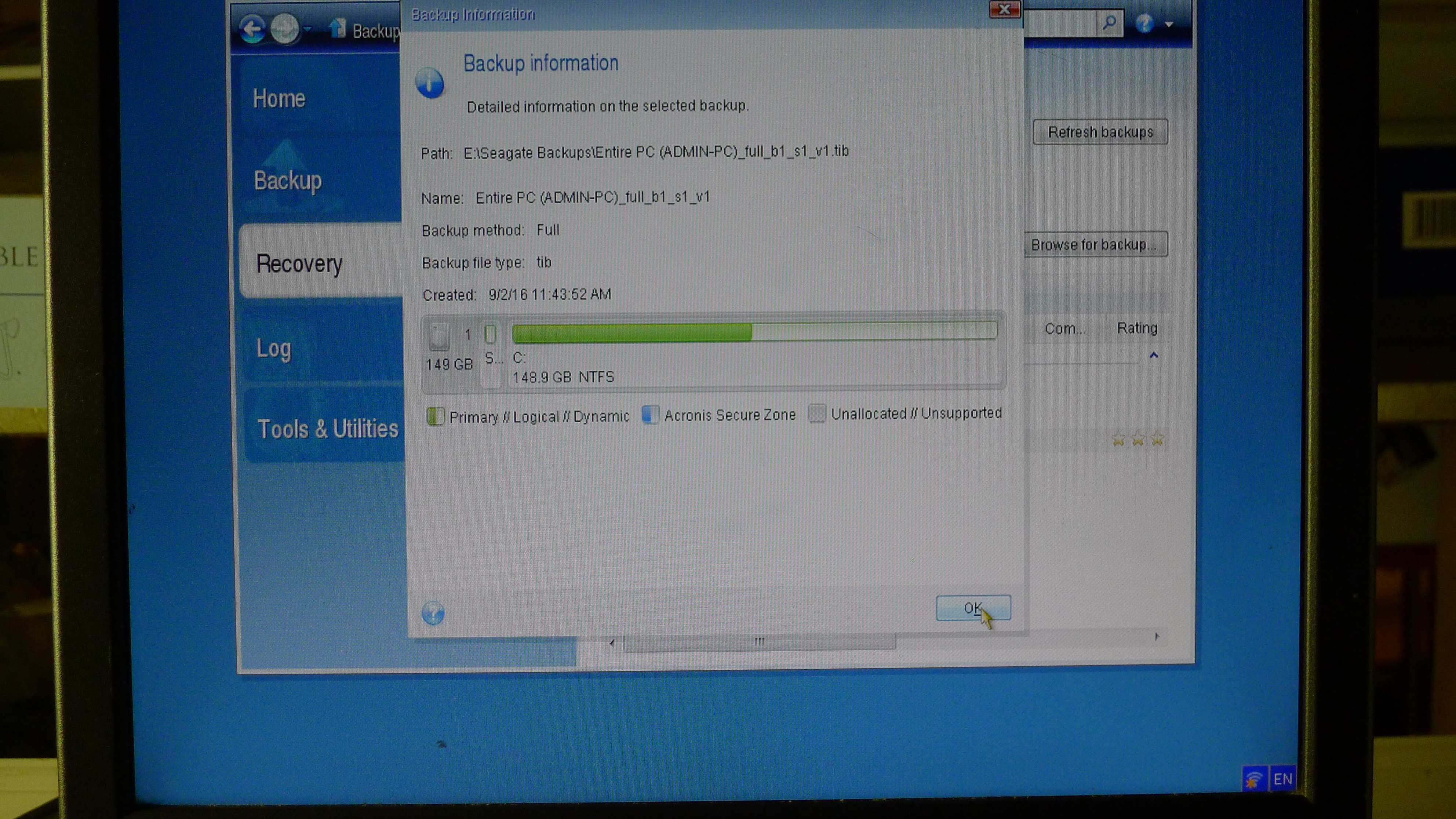 Guide to Restoring a UEFI/GPT Windows System to a New Disk with True