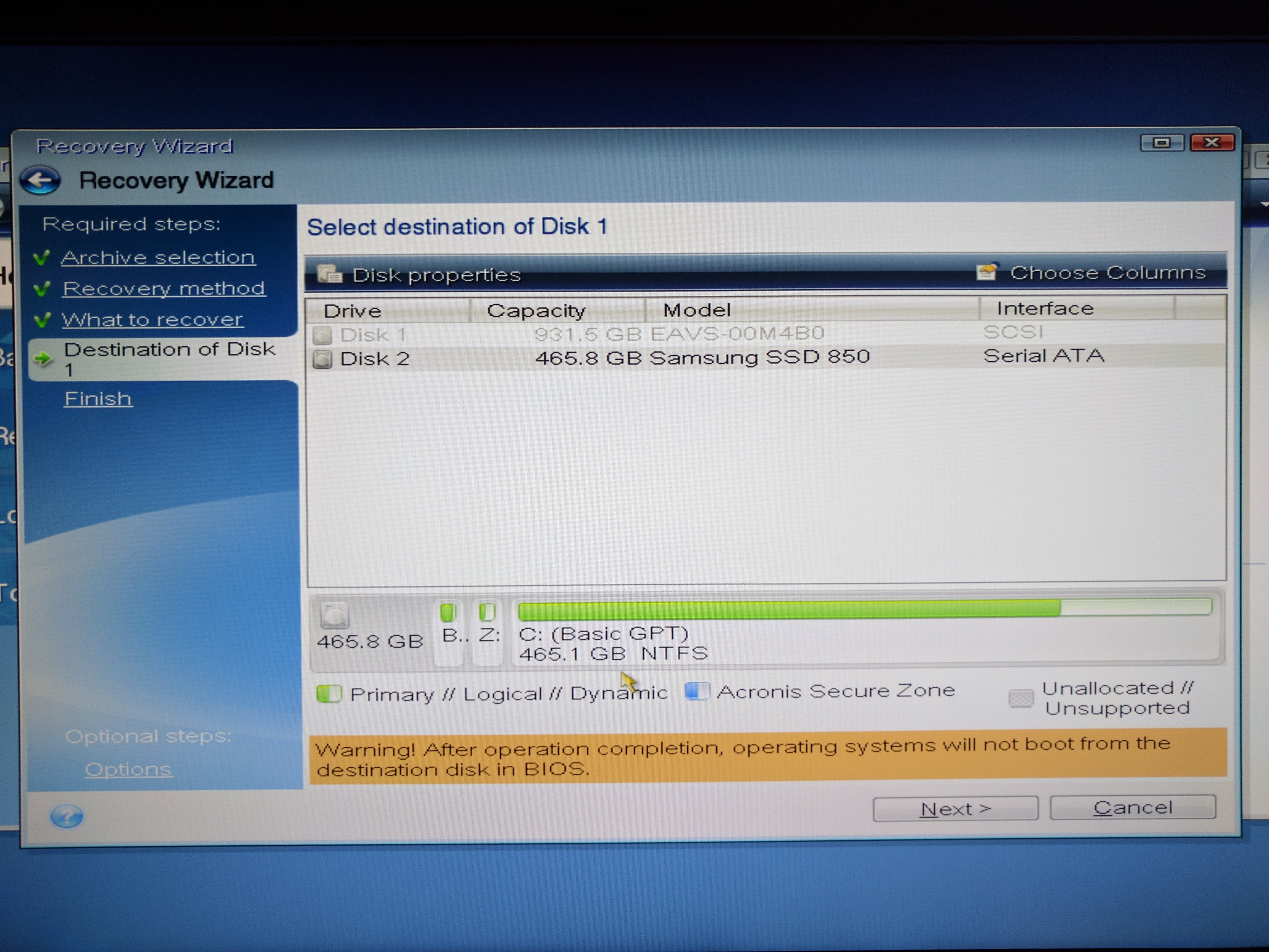 windows 7 will not boot from cd