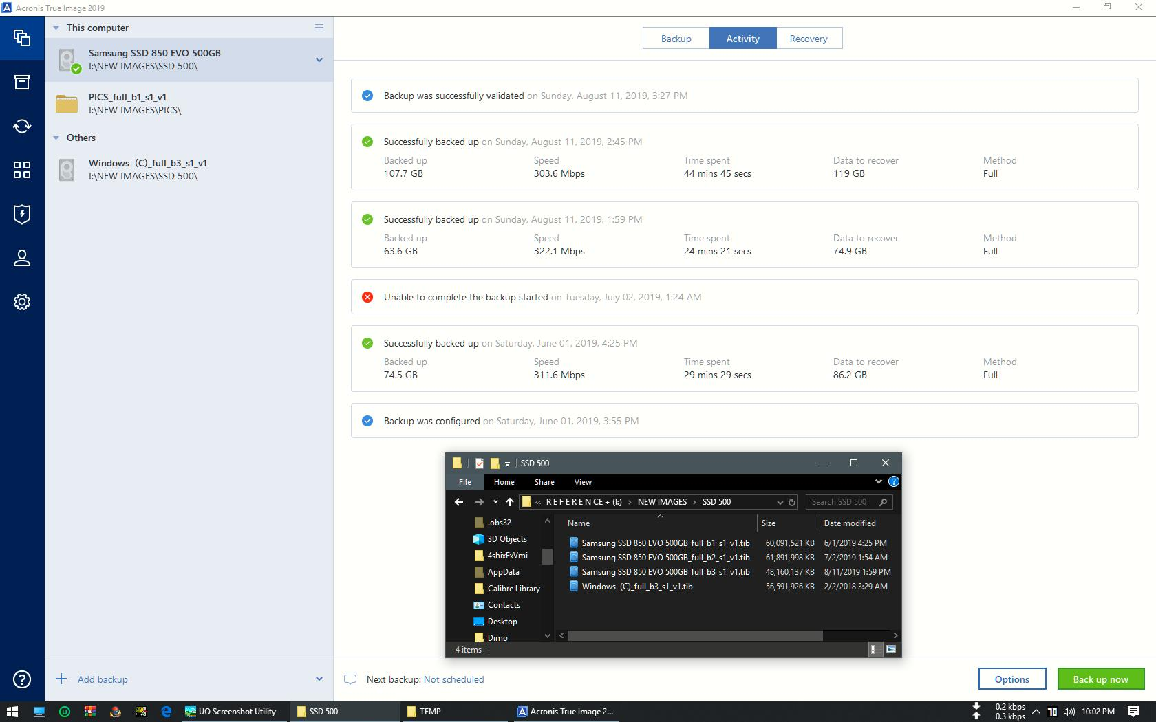 How To Validate Backup Acronis Forum