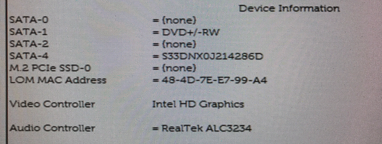 Help! OptiPlex with M 2 SSD drive will not boot post image