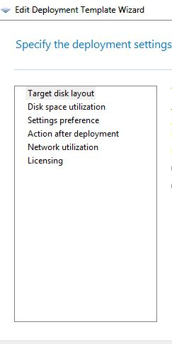 new template missing many options after creating Windows 10
