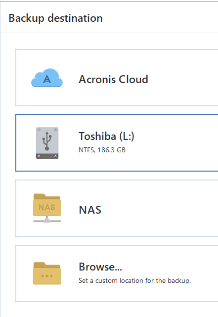 Seeing a Synology NAS through ATI 2018 NAS Connections and
