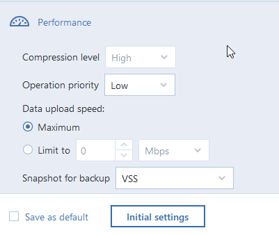 Backup slow - Network speed seems fine | Acronis Forum