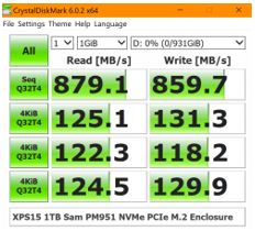 Can Clone from laptop Internal NVMe, PCIe, M 2 SSD to external NVMe