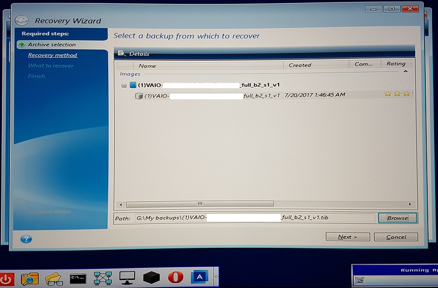 M 2 PCIe NVMe SSD RAID drive not detected by Acronis