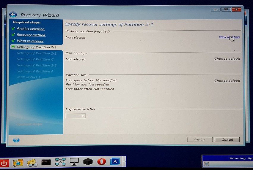 M 2 PCIe NVMe SSD RAID drive not detected by Acronis Bootable Media