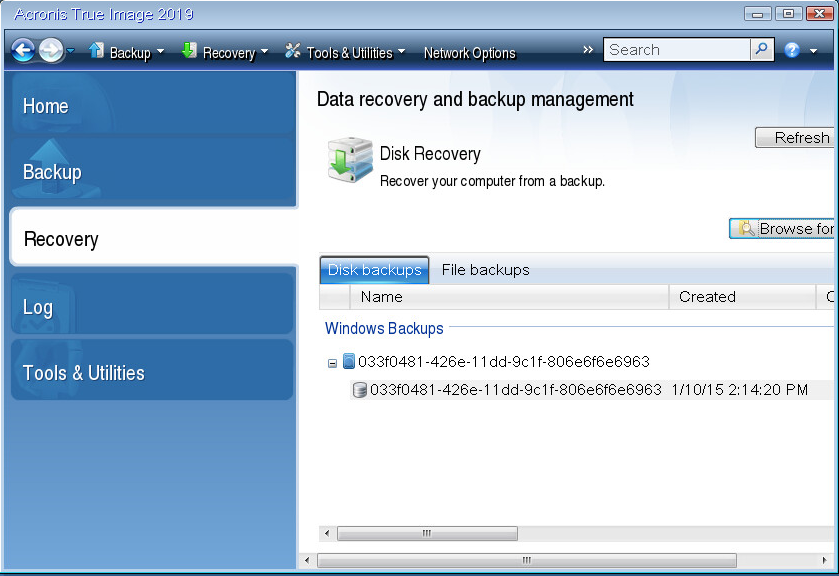 Restore from VHDX Windows image backup? | Acronis Forum